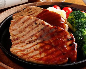 三元豚の肩ロースステーキ ~香草風味~
