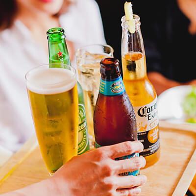 世界中から集めたボトルビール7種
